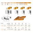 Stark bútorajtó gyártó szett D:120,183; B40,30; d:30,30; Z:2,2+2