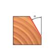 40-FR Pro felsőmaró szögmaró D:18,5x12,7; H:54,9; A:6; C:12,7; a:15; Z:2