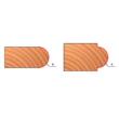 82-FR Pro felsőmaró félköríves lekerekítő D:19x12,4; H:44,7; A:8; R:3,2; Z:2