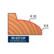 99-FR Pro felsőmaró szappanmaró D:63,5x49; H:66,2; A:12; C:12,7; a:15; Z:2