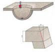 85-FR Pro Ferde simító felsőmaró D:35,6x25,4; H:78,2; A:12; C:22,2; Z:2