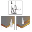 MW Gyémánt felsőmaró D:12x26 L:75 S:12 Z3+1 (jobb)