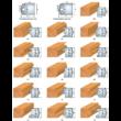 Universális profillapkák 40x4,0