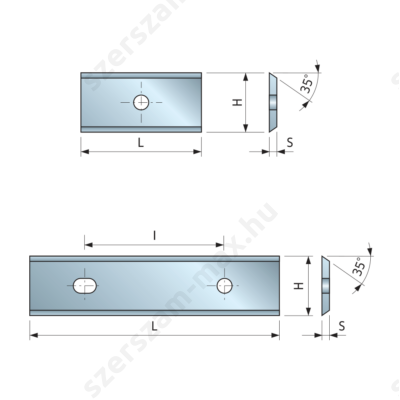 FR váltólapka univerzális 7,6x12x1,5 z:2