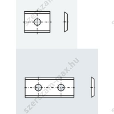 TR váltólapka univerzális 7,5x12x1,5 z:2