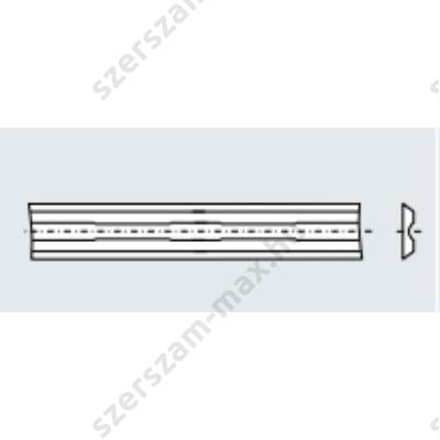 TR váltólapka 82x5,5x1,1 z:2